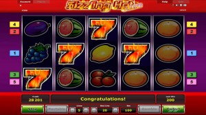Sizzling Hot Casinogame